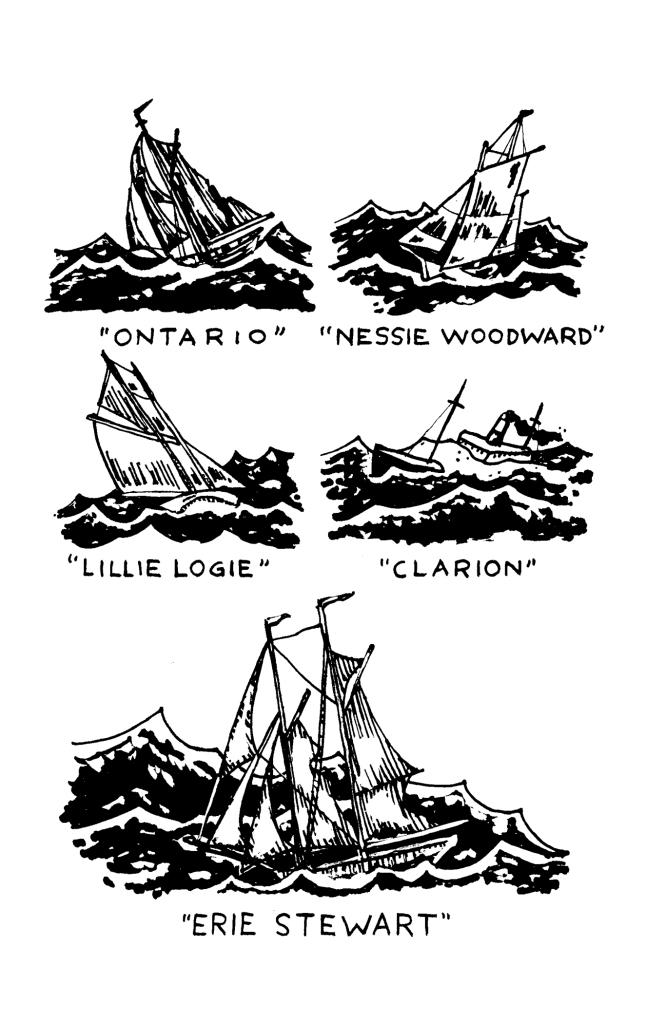 Cold Case Kids: Legend of the Phantom Reaper: Lake Huron shipwrecks