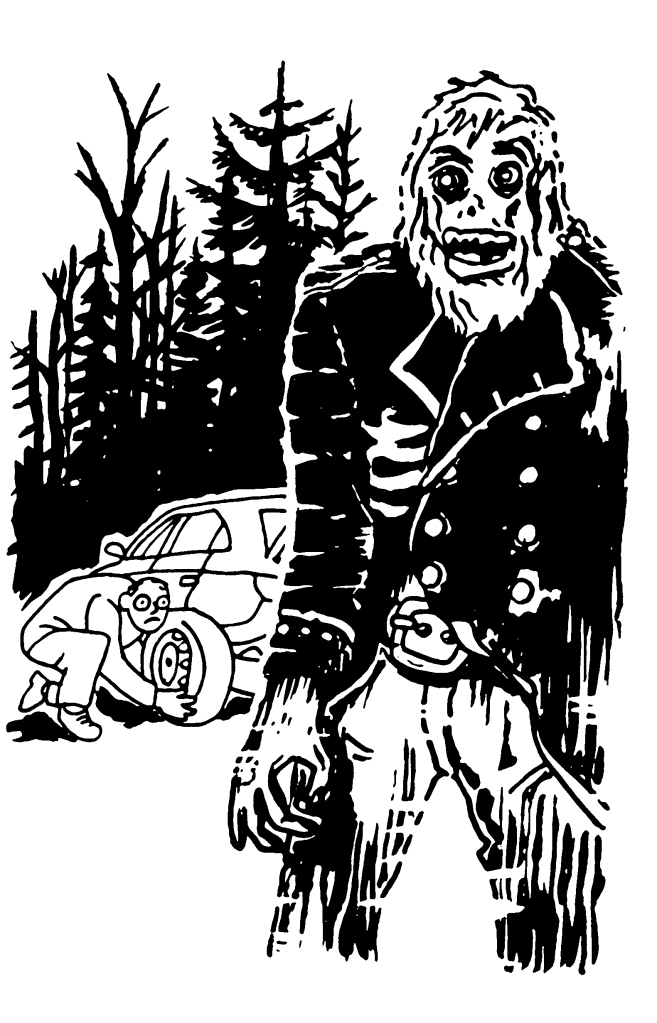 Cold Case Kids: Ghoul's Gold tire change surprise